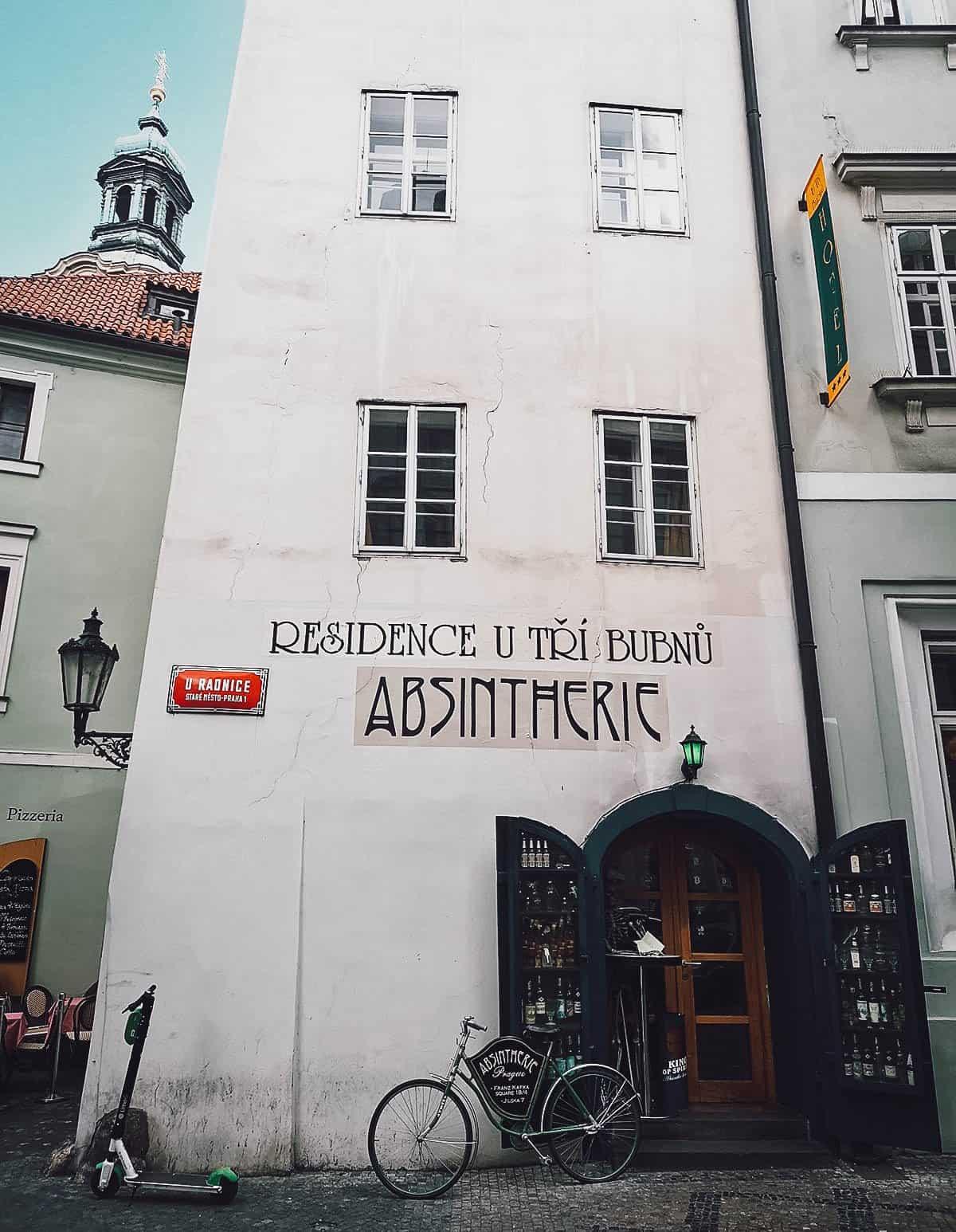 Absintherie, Prague, Czech Republic