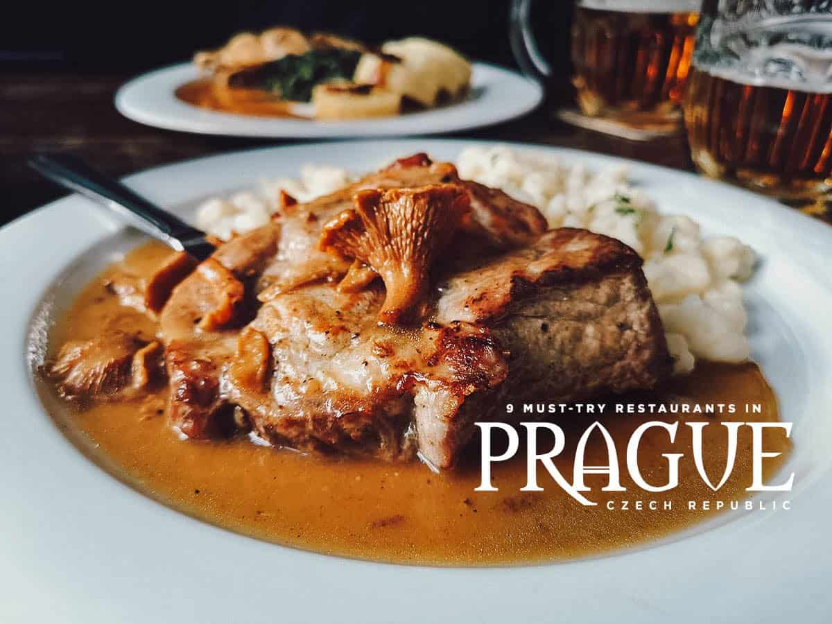 Prague Food Guide: 9 Must-Try Restaurants