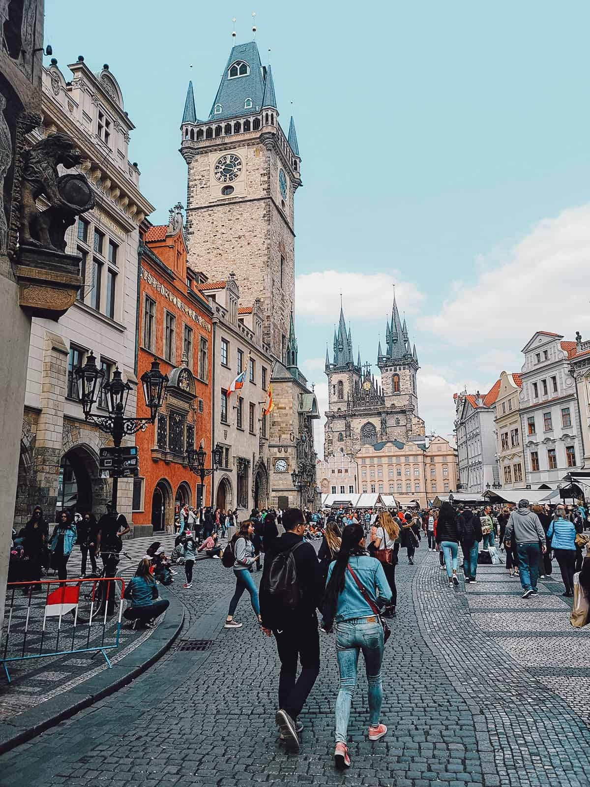 Old Town Square in Prague, Czechia