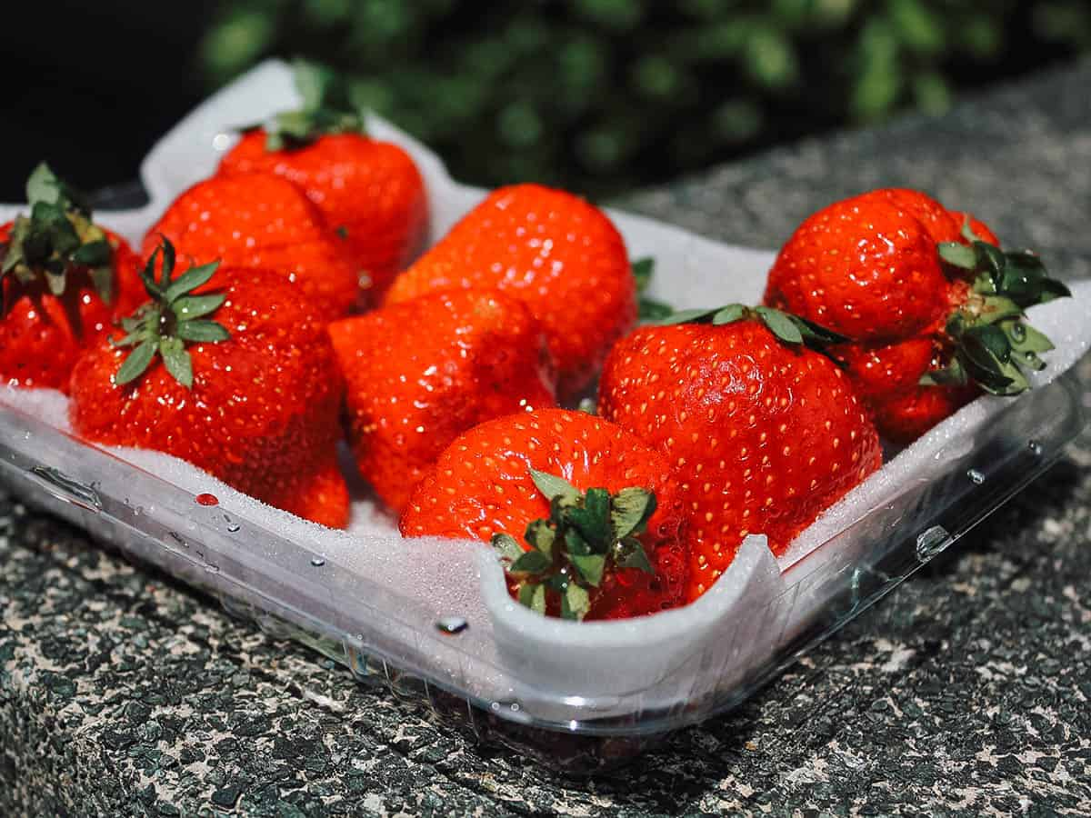 Amaou strawberries