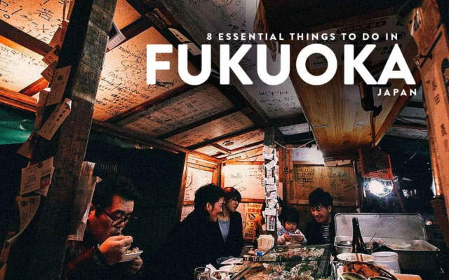 8 Essential Things to Do in Fukuoka, Japan