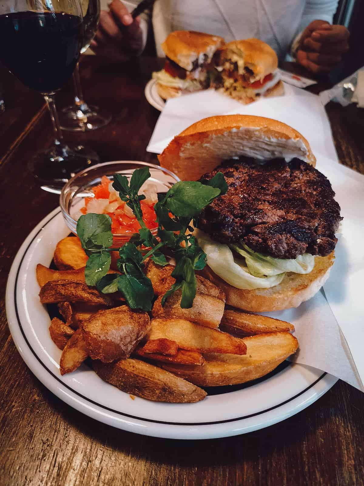Hida beef burger