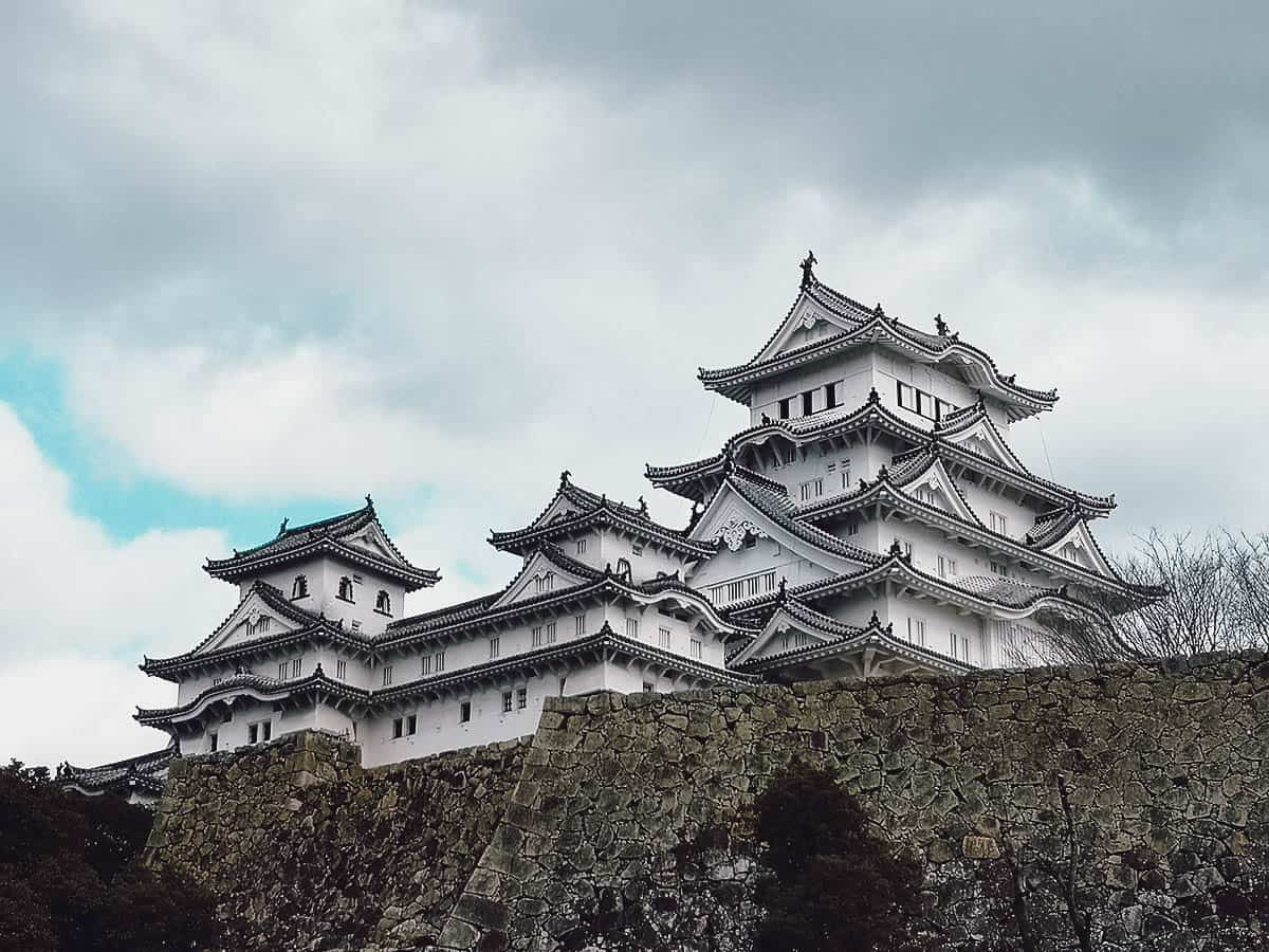 Himej Castle in Hyogo, Japan