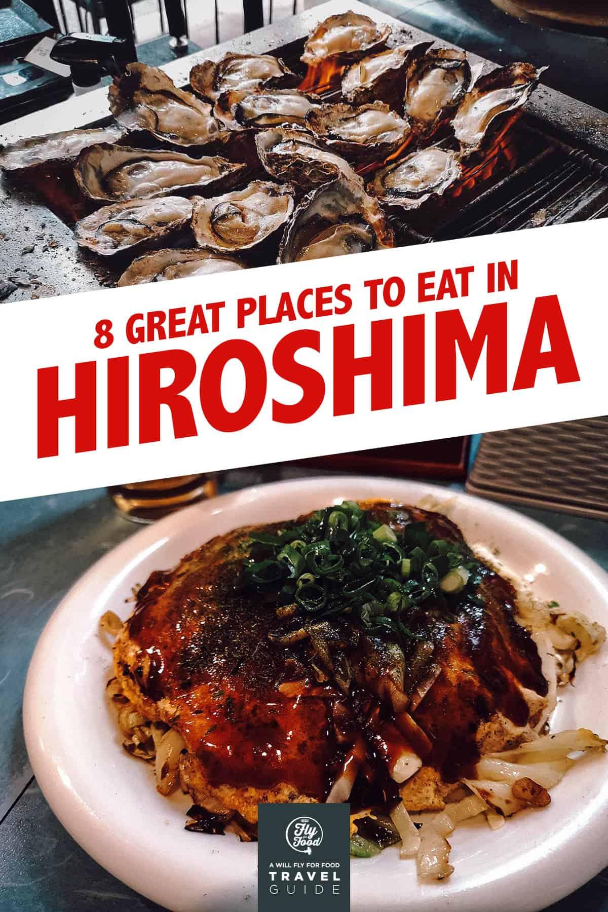 Oysters and okonomiyaki