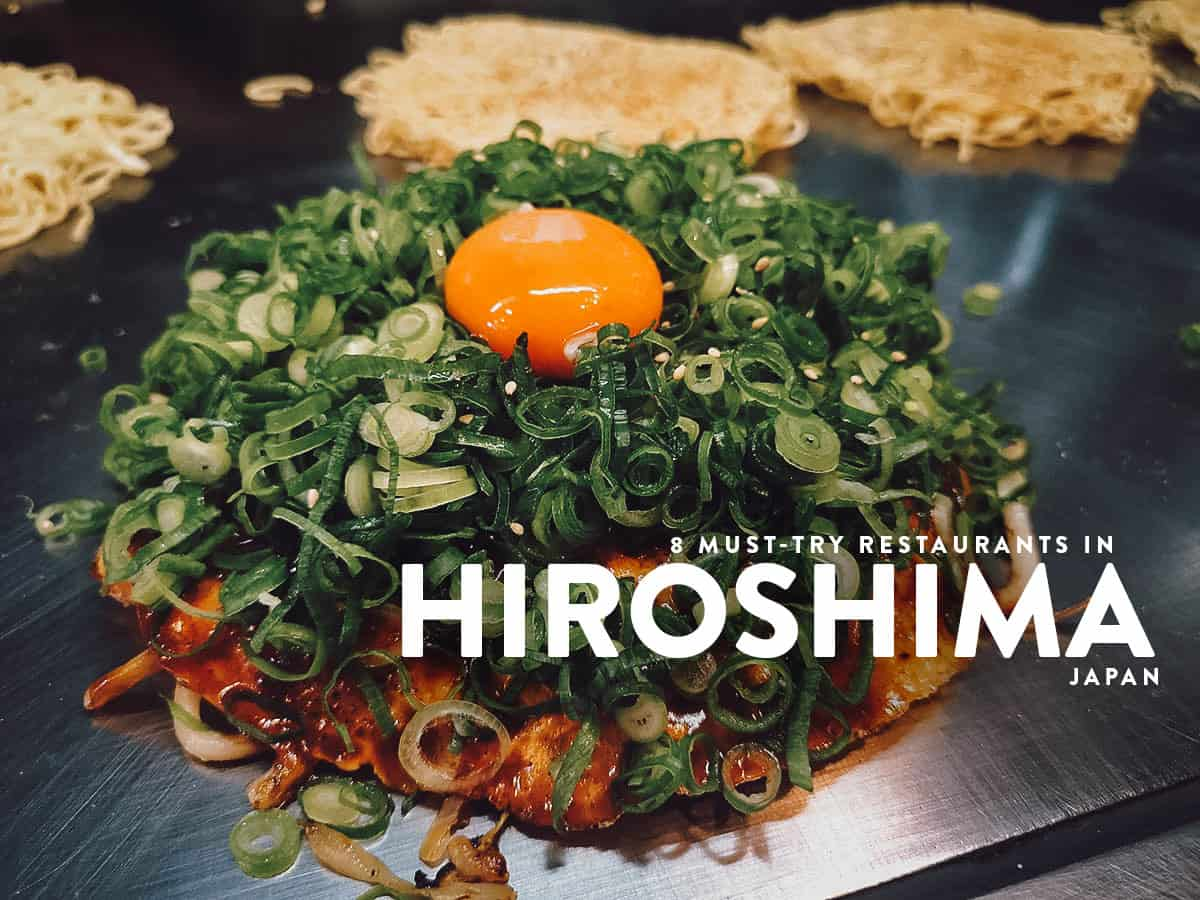 8 of the Best Hiroshima Restaurants