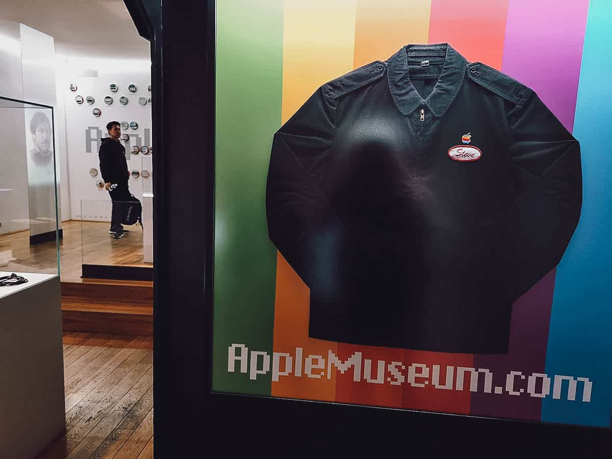 Inside the Apple Museum in Prague, Czechia