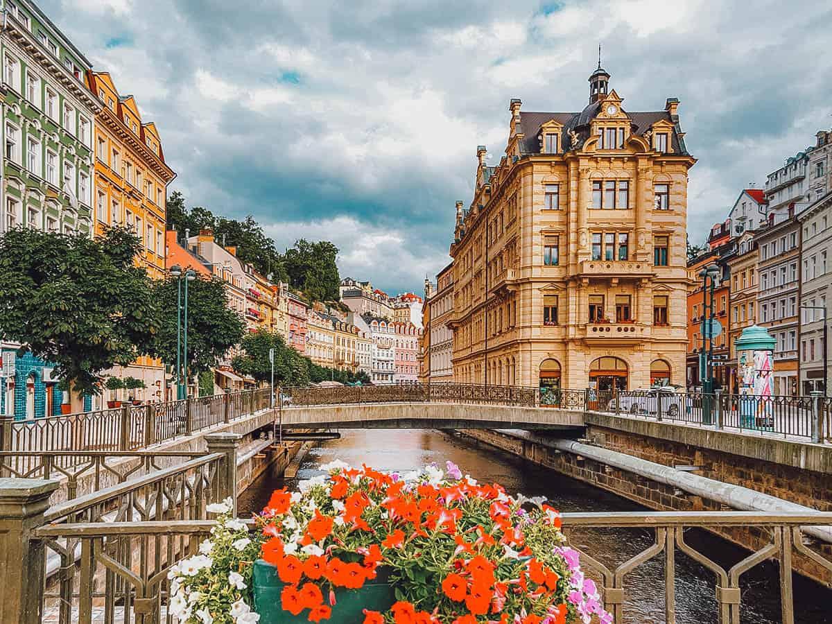 Karlovy Vary in Czechia