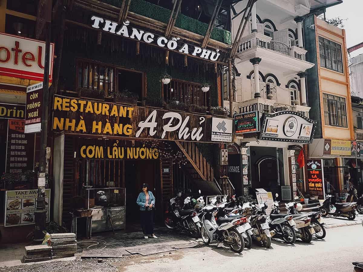 A Phu Restaurant exterior