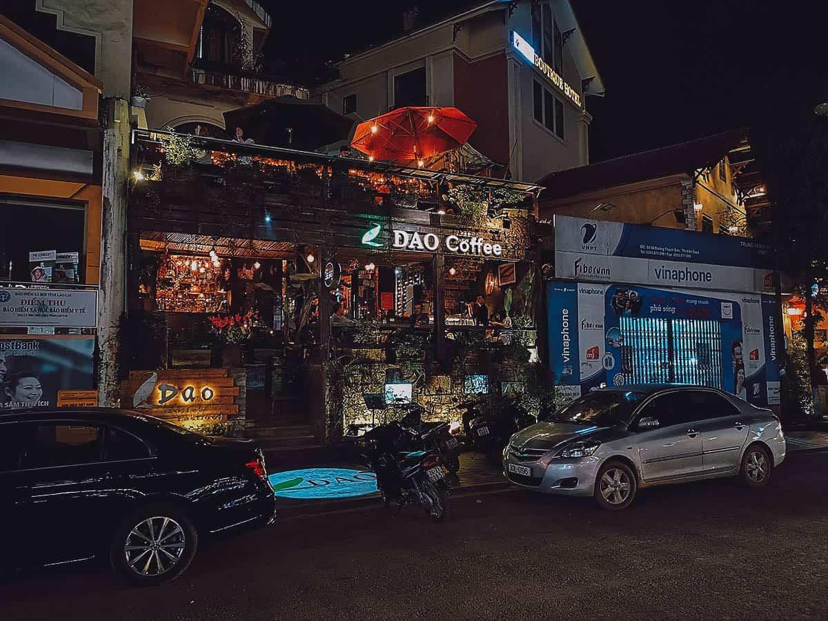 Dao Coffee exterior