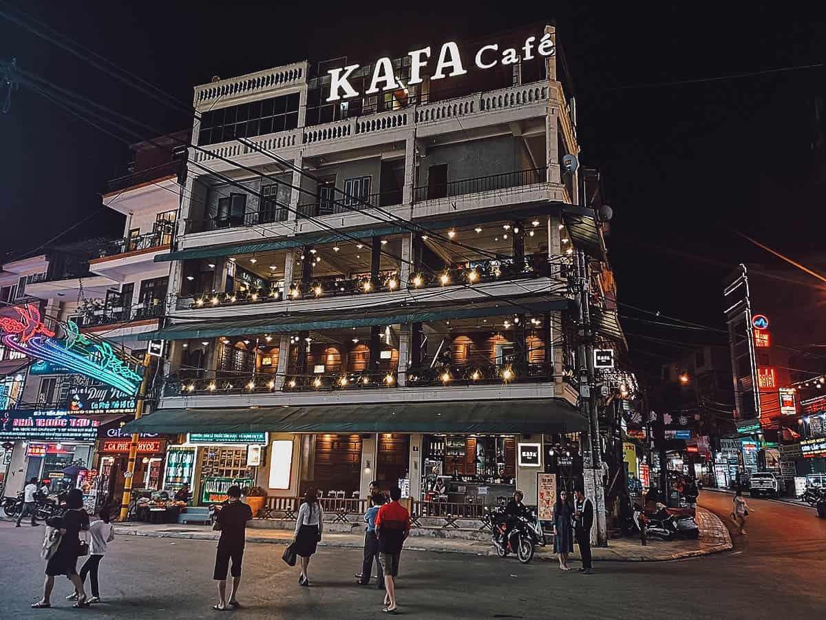 Kafa Cafe exterior