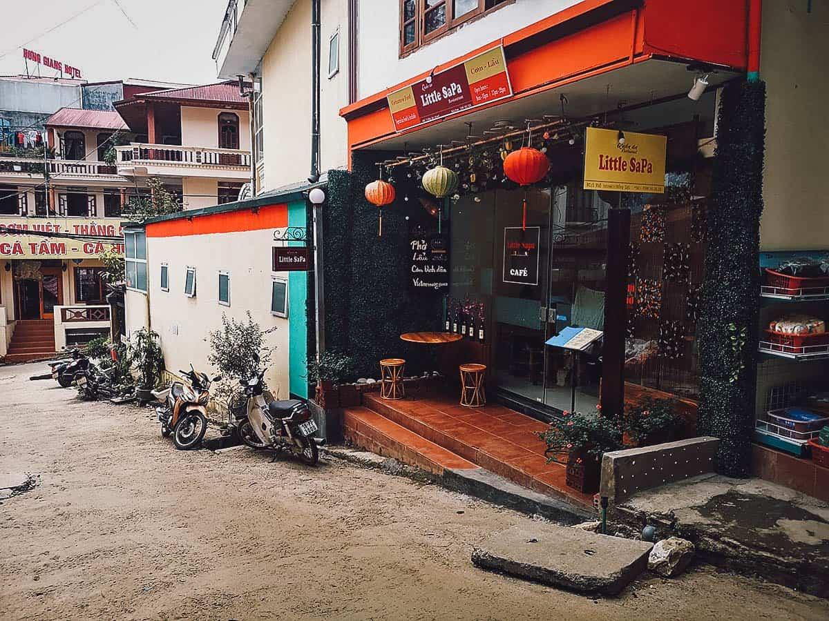 Little Sapa Restaurant exterior