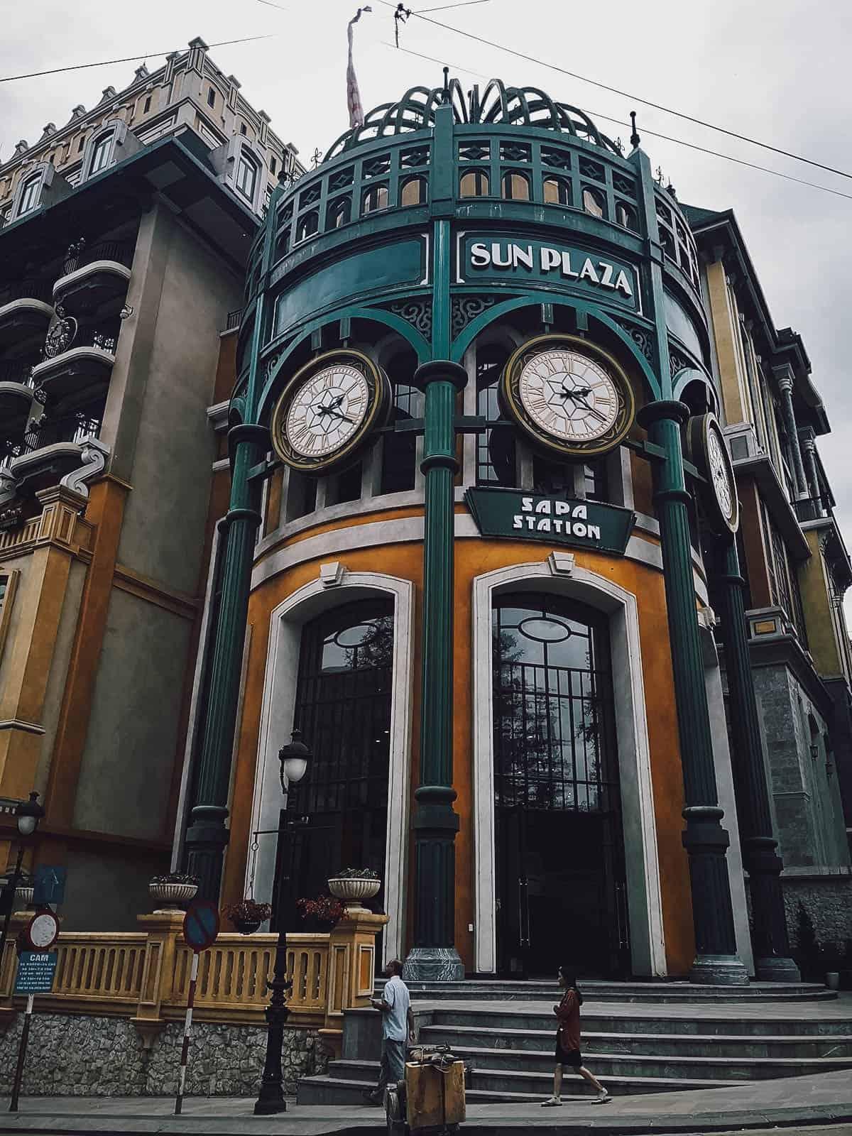 Exterior of Sapa Station