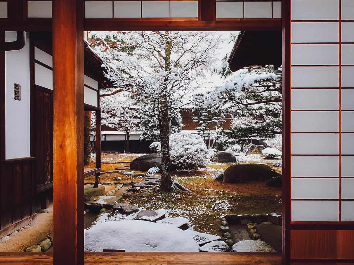 Inside Takayama Jinya