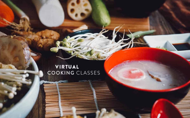 LIVE Virtual Cooking Classes: Cook From Home Like a Chef