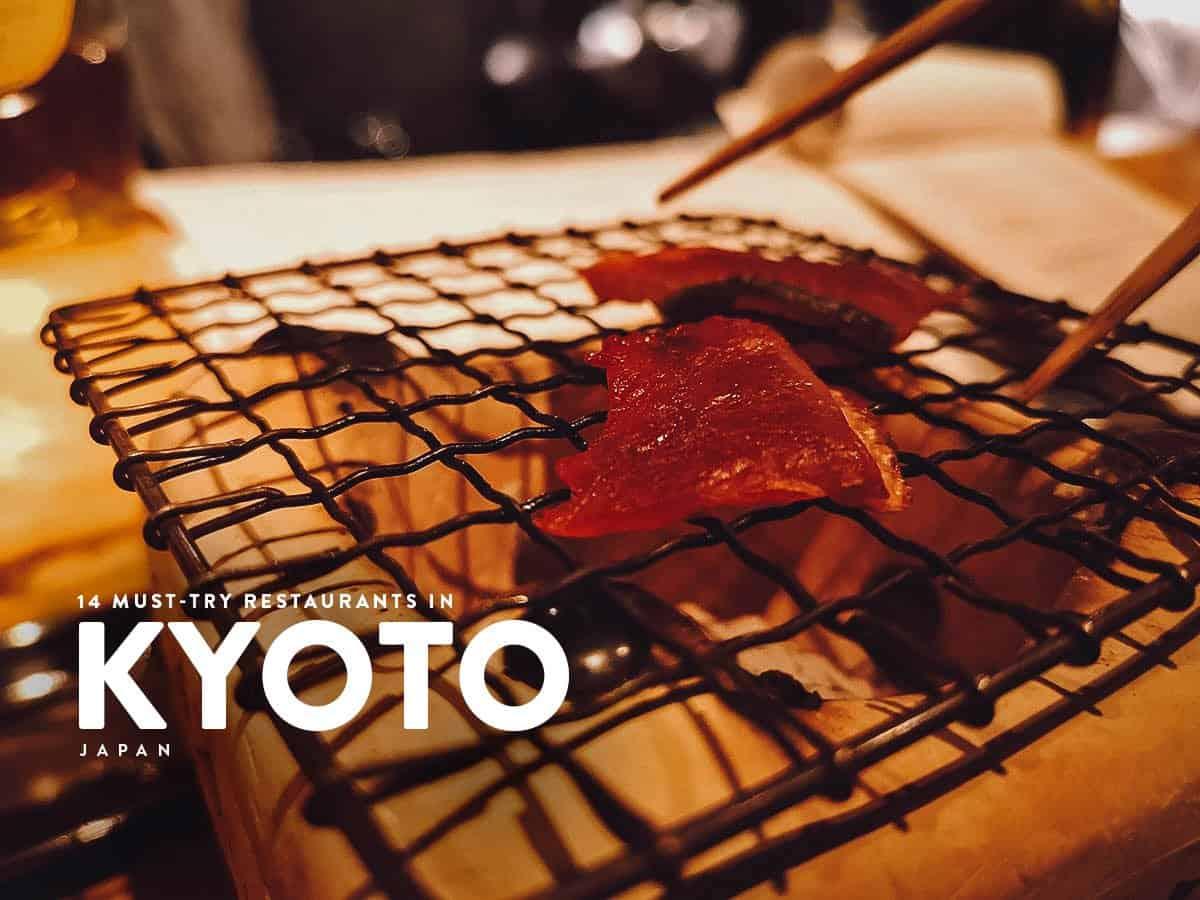 14 of the Best Kyoto Restaurants