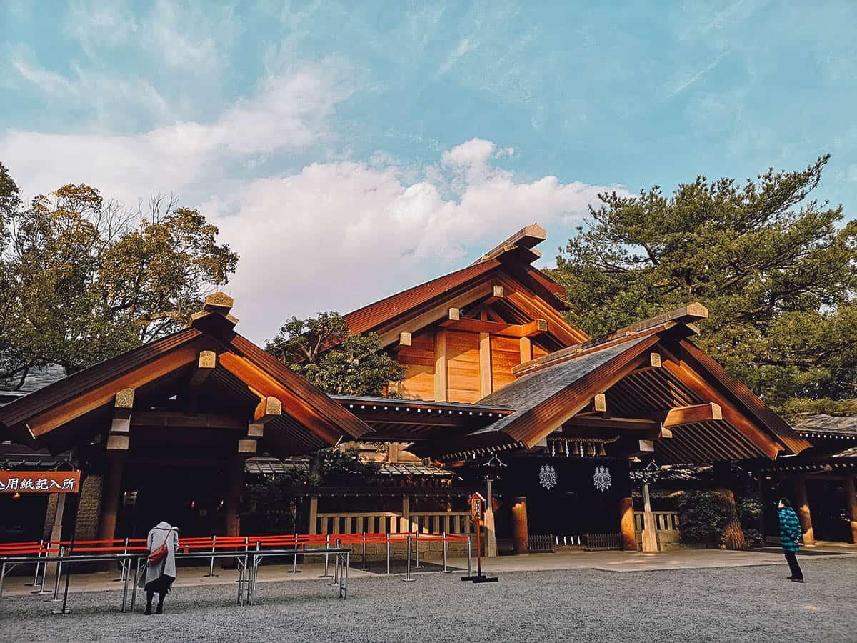 Atsuta Shrine exterior