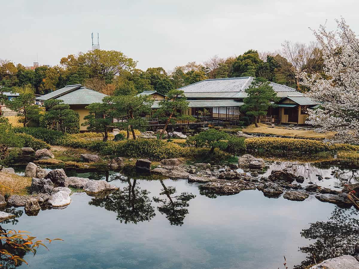 Pond at Shirotori Garden