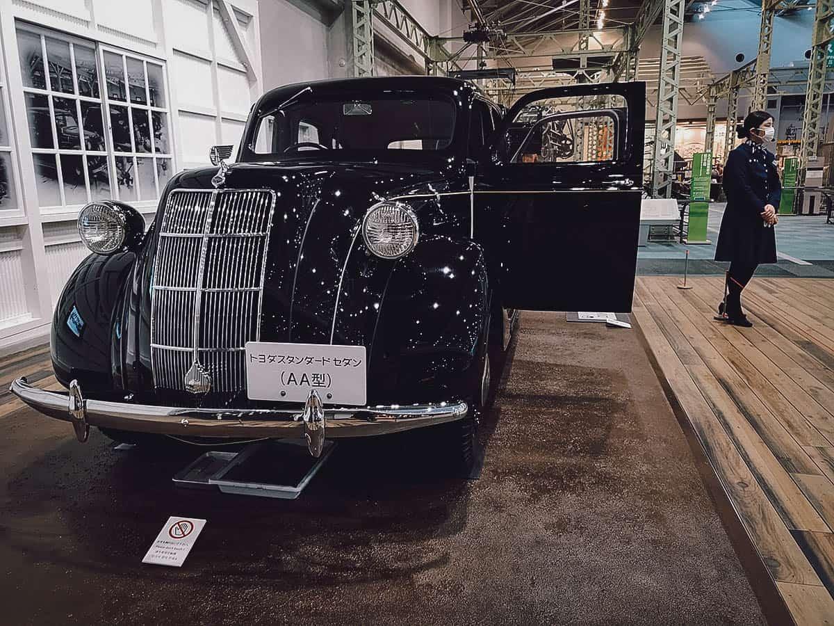 Vintage Toyota automobile