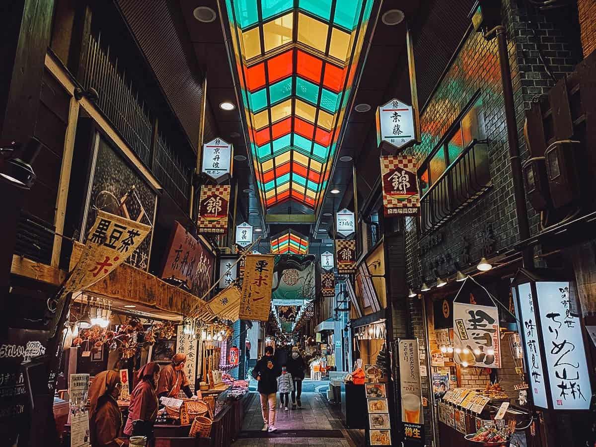 Shops at Nishiki Market