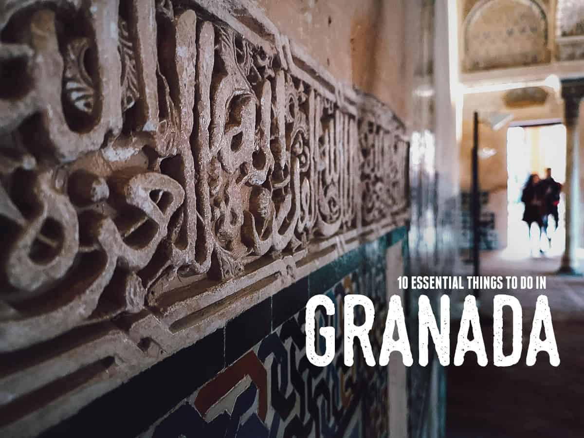 10 of the Best Things to Do in Granada