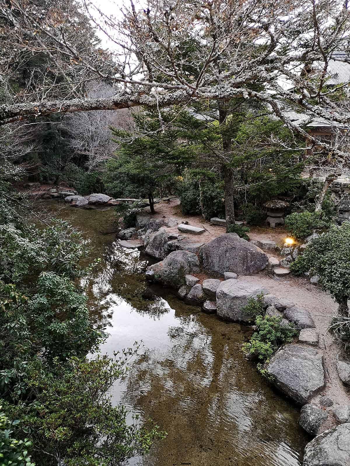 Walking through Momijidani Park