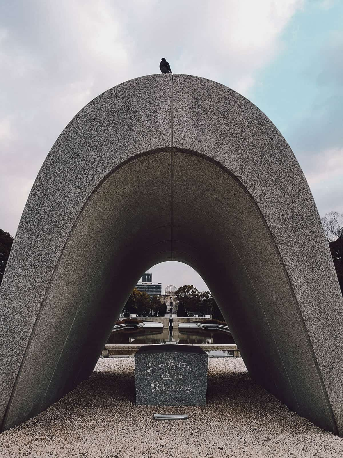 Monument at Peace Memorial Park