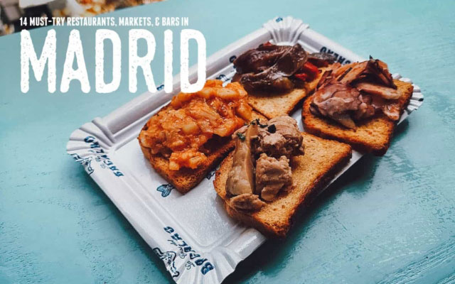 Madrid Food Guide: 14 Must-Try Restaurants, Bars, and Markets