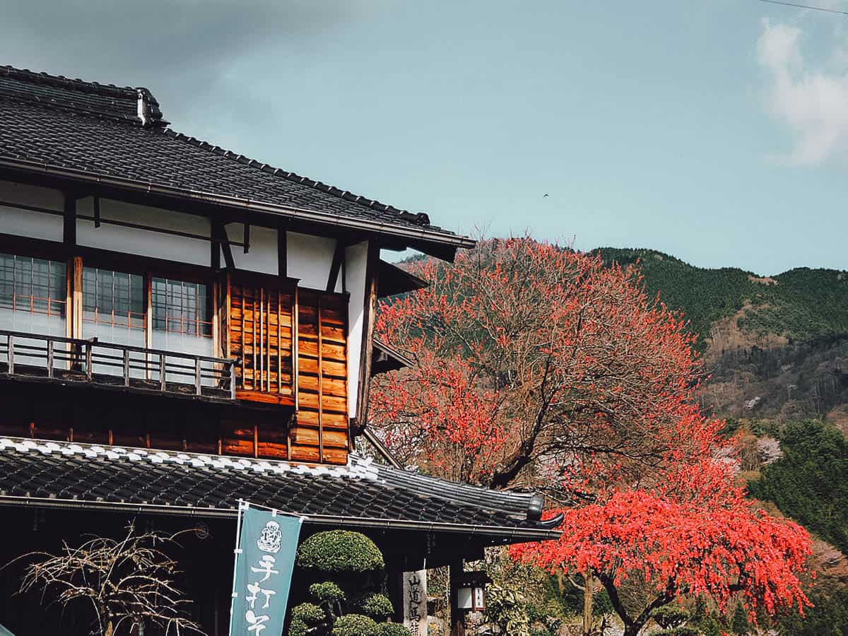 Traditional house in Magoma, Japan