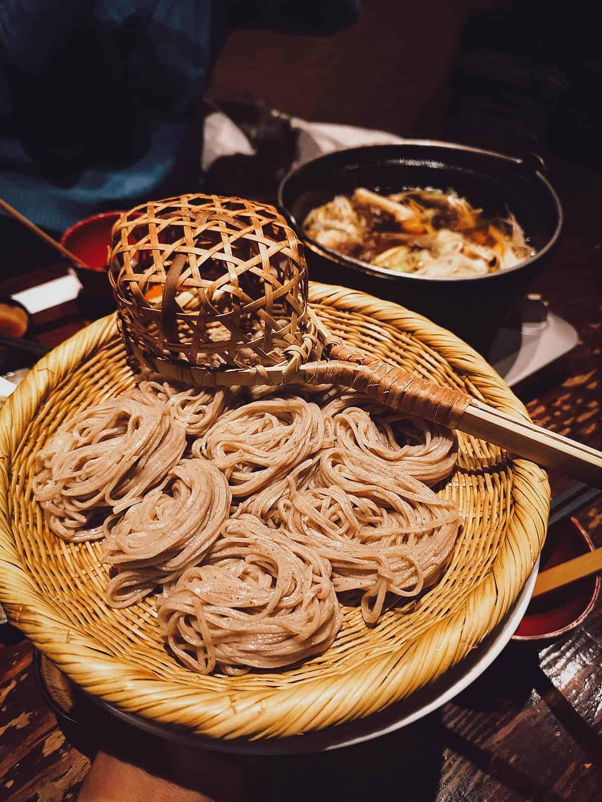 Shinshu soba