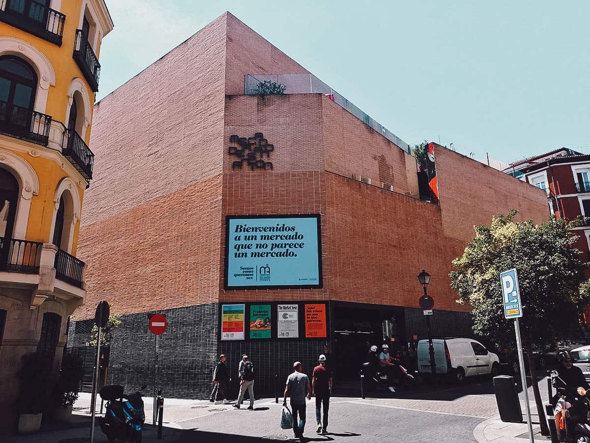 Mercado de San Anton exterior