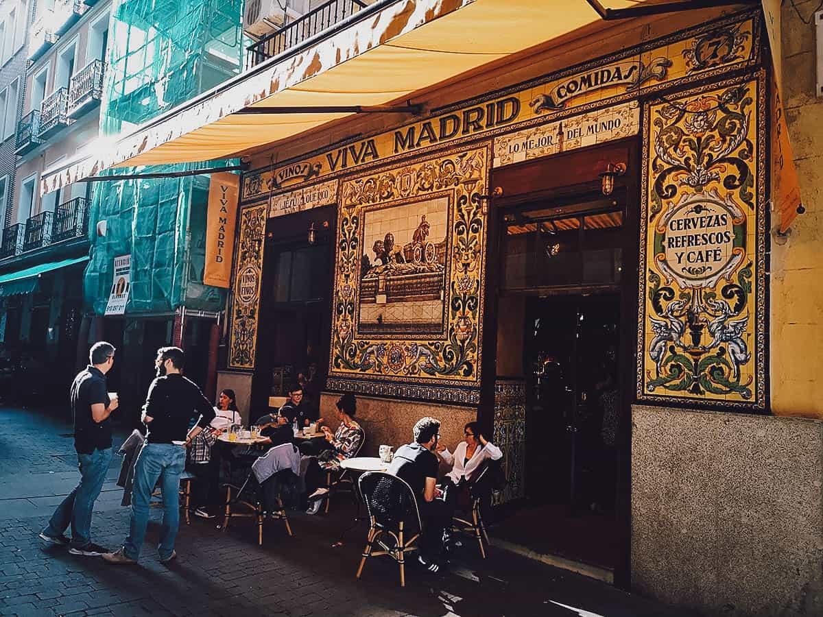 Viva Madrid exterior