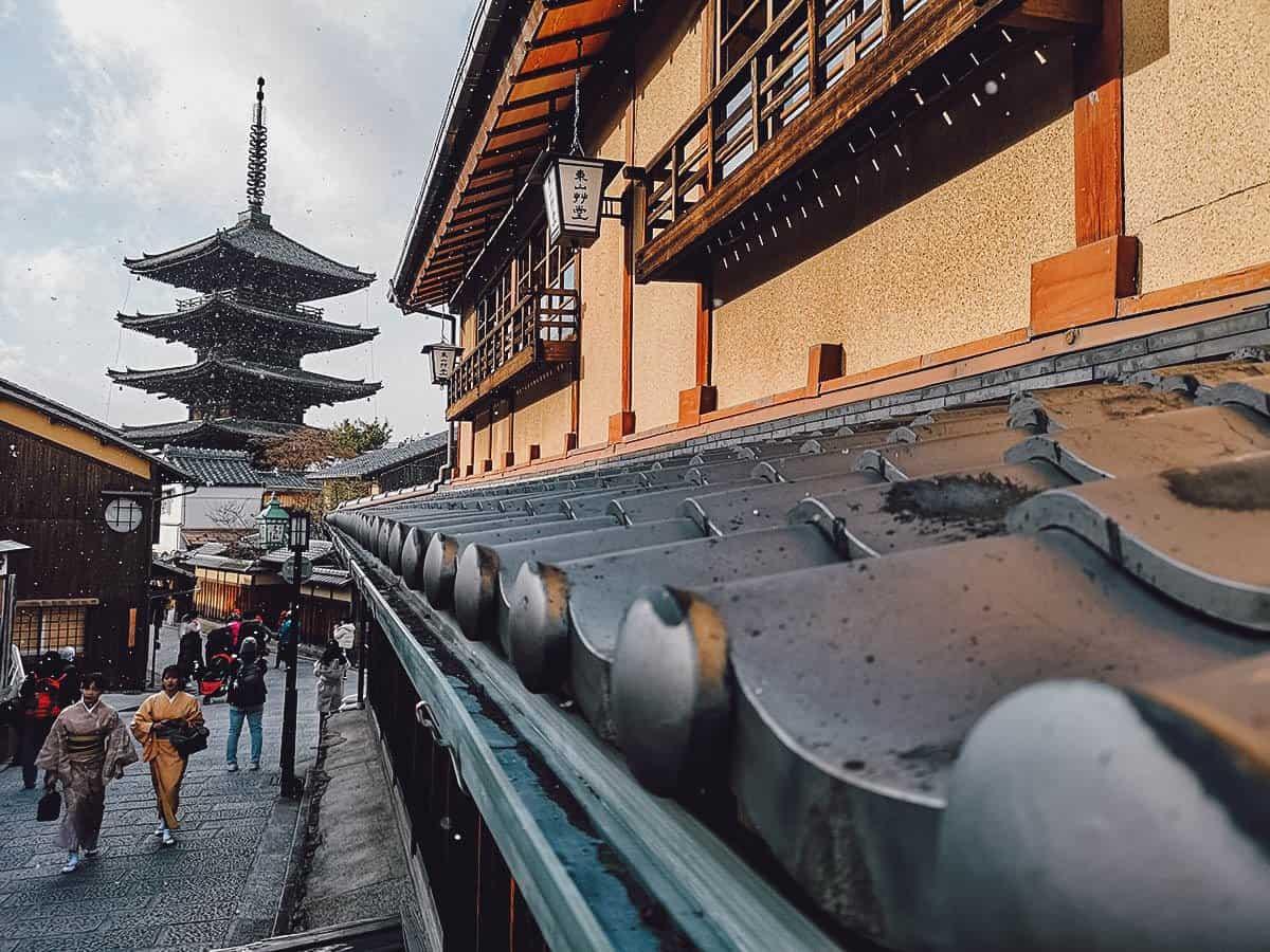 View of Hokan-ji