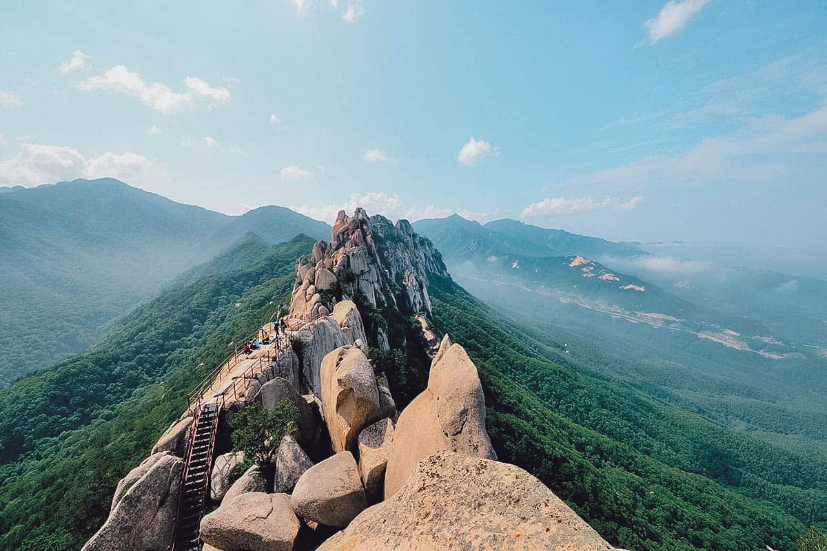 Mountains at Seoraksan National Park