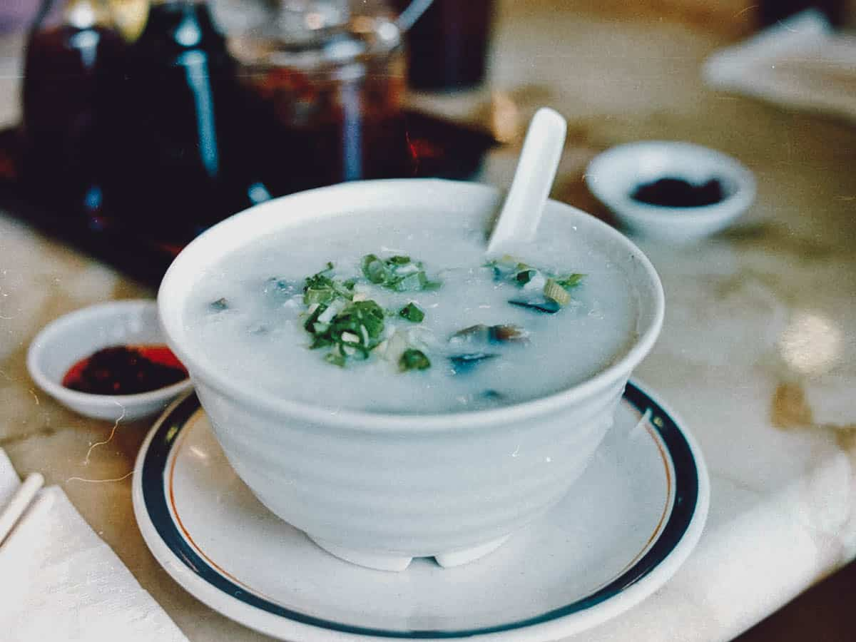 Bowl of congee