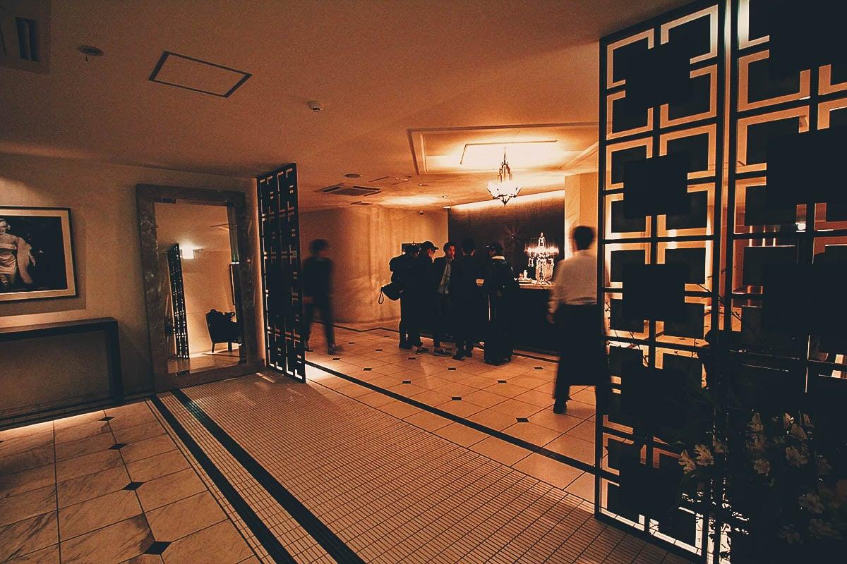 Hakata Motsunabe Yamanaka Akasakaten lobby