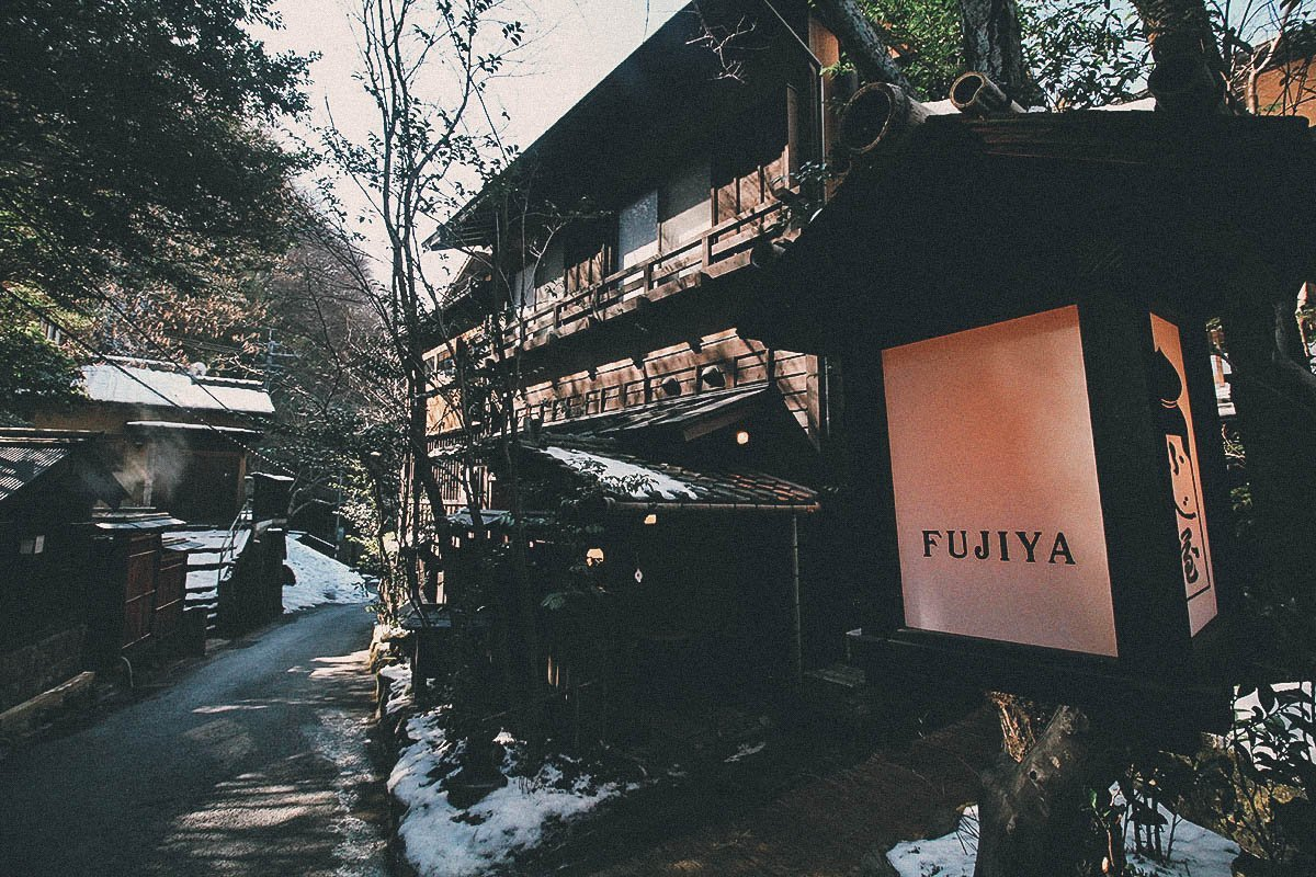 Walking around Kurokawa Onsen