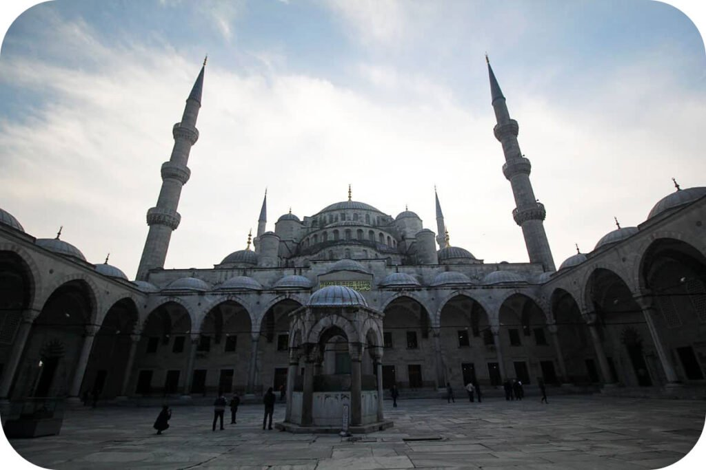 The Blue Mosue in Istanbul, Turkey