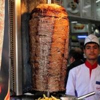 Doner kebab in Istanbul, Turkey