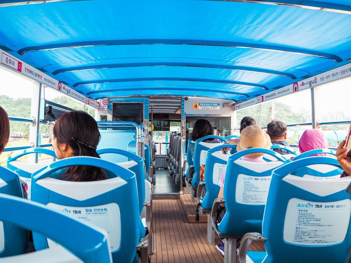 Jeju Island public bus