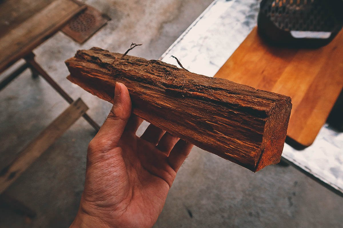 Piece of firewood