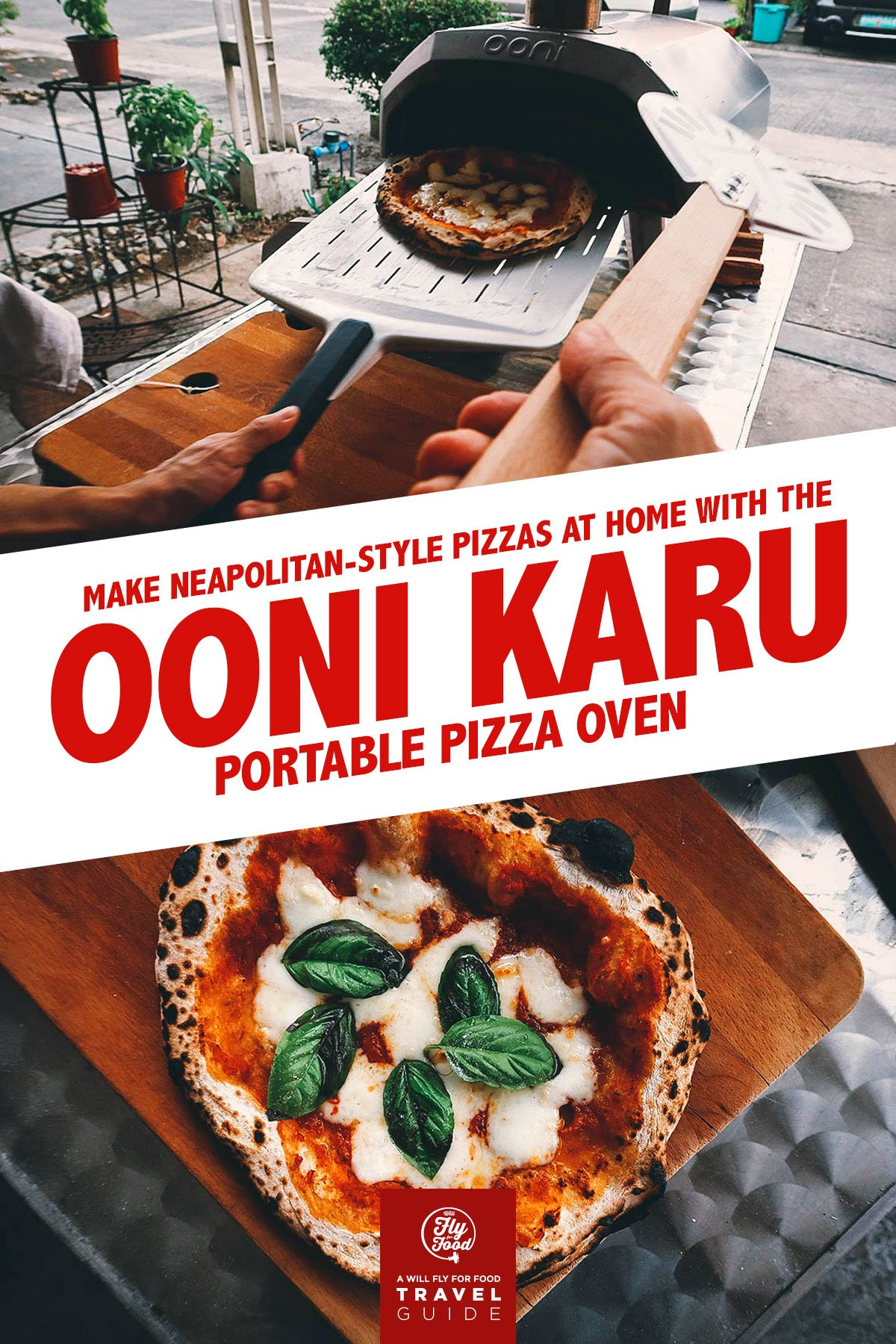 Making Neapolitan-style pizza with an Ooni pizza oven