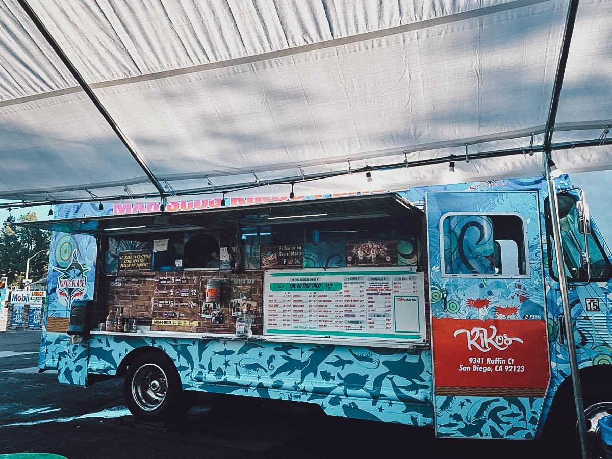Fish taco truck
