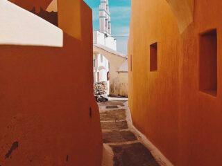 Alleyway in Emporio, Santorini