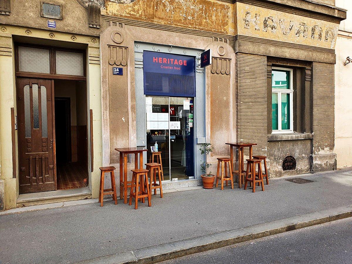 Croatian Food Heritage exterior
