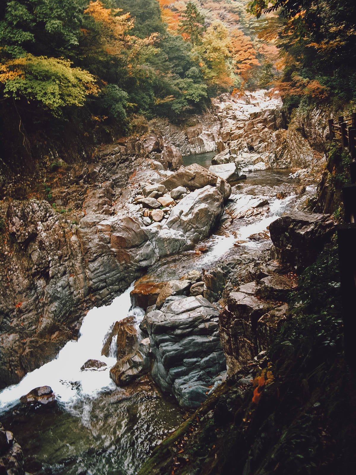 Stream in Sandankyo Gorge