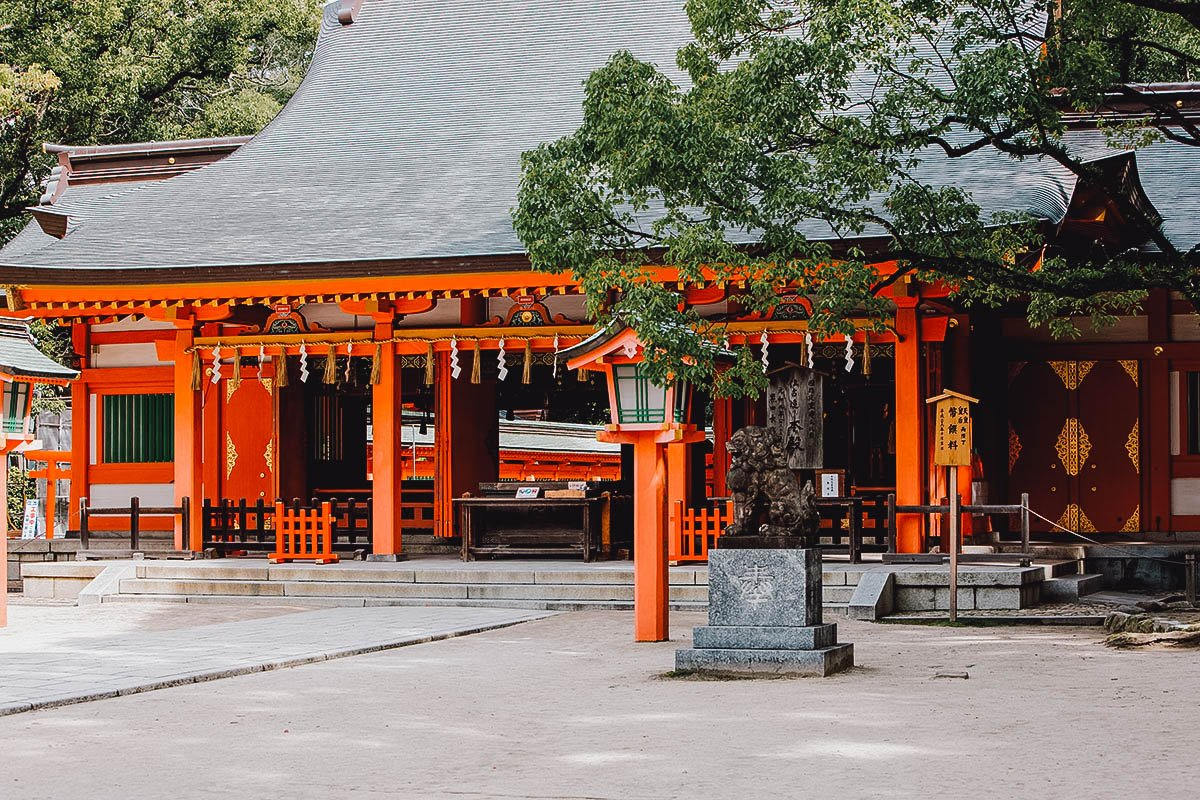Sumiyoshi Shrine exterior