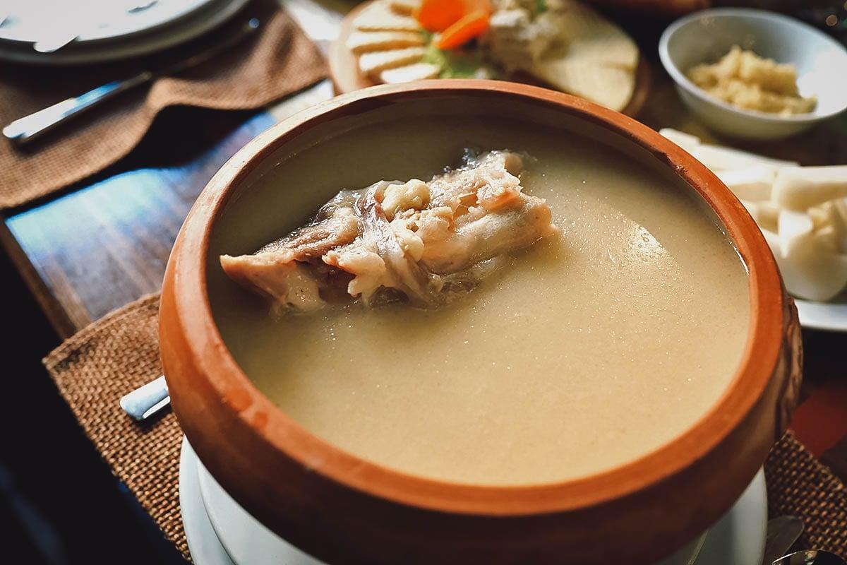 Bowl of khash