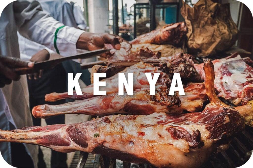 Men cooking nyama choma