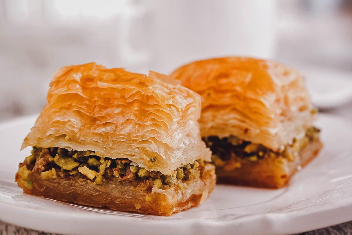 Baklava, a popular dessert in Egypt