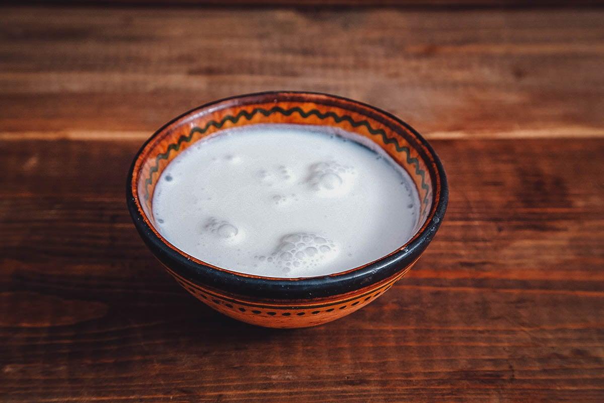 Bowl of shubat